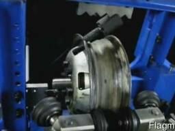 Станок дископравильный Радиал М2 (гидравлика, ручной привод)