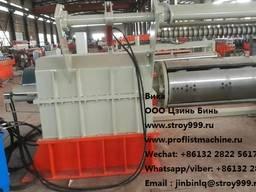Станок продольной и поперечной резки металла в заводе chengd