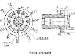 Станок токарно-револьверный с ЧПУ 1В340Ф30 .