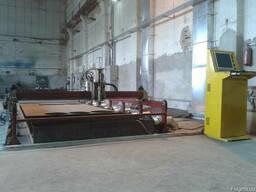 Станок воздушно -Плазменной резки с ЧПУ стол (2, 5мх7, 5м) пол
