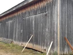 Старі дошки з будівель.