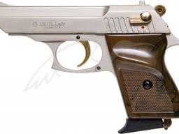 Стартовый пистолет Ekol lady сатин с позолотой