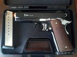 Стартовый пистолет KUZEY 911-SX черный второй магазин