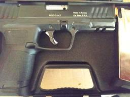Стартовый пистолет Kuzey Р 122 (черный) запасной магазин