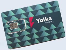Стартовые пакеты Yolka Mobile выгодный роуминг 3G и 4G