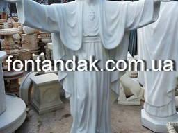 Статуя Иисуса Христа из высокопрочного бетона