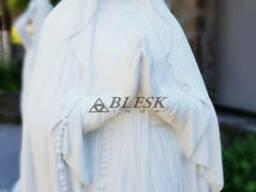 Статуя , скульптура Богородицы из высокопрочного белого...