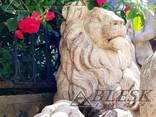 Статуя скульптура Льва из полимерного бетона - фото 3