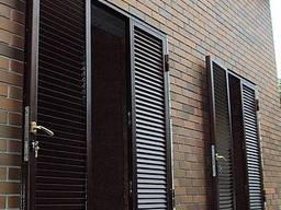 Ставни/решетки кованые/сварные на окна/двери под заказ