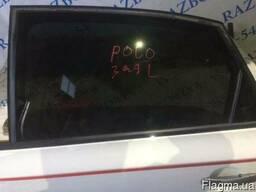 Стекло двери правое левое переднее заднее Volkswagen Polo 5