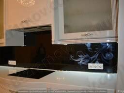 Стекло на кухню с фото печатью с установкой г. Киев