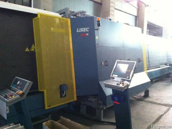 Стеклопакетная линия Lisec 1600 X 3500 с газ прессом и робот