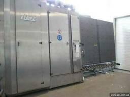 Стеклопакетная линия LISEC 2500*3500 с газ пресс и робот