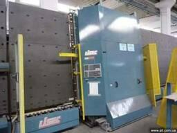 Стеклопакетная линия Lisec 2500Х3500 с газ прессом и роботом