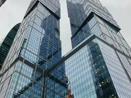Архитектурное и зеркальное стекло. Остекление зданий