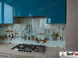 Стекло на кухню с фото печатью