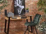 Стеклянный стол для ноутбука в стиле Лофт. Доставка на дом. - фото 1