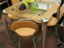 Стеклянные столики кухни B206-3, купить кухонный стол стол