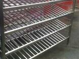 Стеллажи из нержавеющей стали - фото 1