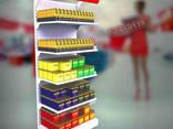 Стеллажи торговые для магазинов - фото 1