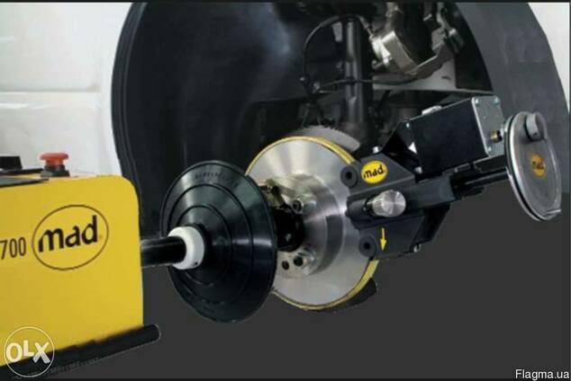 Стенд проточки тормозных колодок mad 8700-usm