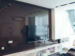 Скляна панель на стіну, скіналі, кухонний фартух