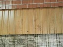 Стеновой профнастил 1120х1170х0,40 мм золотой дуб