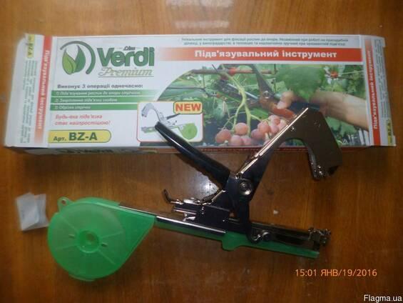Степлер (инструмент) для подвязки винограда, овощей и цветов