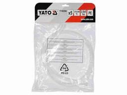 Стержні поліетиленові для зварювання/пайки пластику YATO 2.5 x 5 мм x 1 м 300°C 5 шт