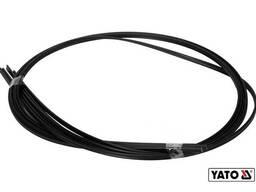 Стержні поліпропіленові для зварювання/пайки пластику YATO 2. 5 x 5 мм x 1 м 300°C 5 шт