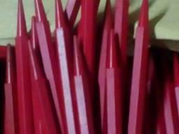 Стержни восковые красные 150 штук.