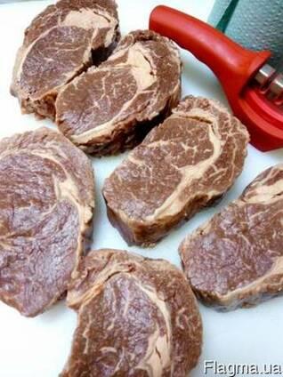 Стейки из мраморной говядины
