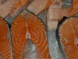 Стейки лосося с/м