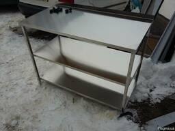 Стіл із нержавіючої сталі , стіл нержавіючий