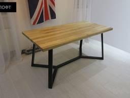 Стіл лофт, обідній стіл лофт на замовлення
