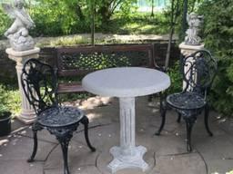 """Стіл """"Садовий"""", садово-парковий, d750*h780"""
