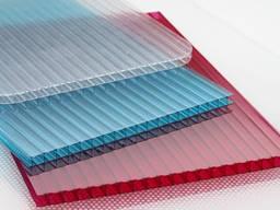 Стільниковий(сотовый)полікарбонат кольоровий 25х2100 х 12000