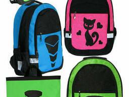 Стильный комплект для школы - рюкзак Трансформер, Кошка и. ..