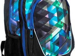 Стильный рюкзак с принтом PASO 21L черный PS15-367E