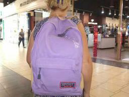 Школьный городской стильный рюкзак Арт LAMA цвет фиолетовый