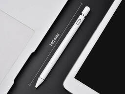 Стилус для телефона или планшета Usams Touch Screen Stylus Pen US-ZB057. White