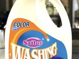 Стиральный порошок. Гель для стирки Sailor Wash Color
