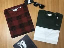 Сток брендовых мужских футболок Оптом