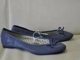 Сток новой обуви C&A. Микс на вес. Лот 10 кг. - фото 2