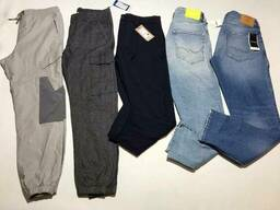 Стоковые мужские джинсы и штаны Jack&Jones/Selected Homme сток оптом стокопт. ..
