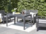 Стол для сада и террасы Allibert Lyon Table Smooth - фото 7
