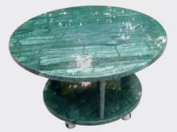 Стол из мрамора. Журнальный столик