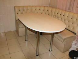 Стол кухонный, писменный, обеденный, овальный, прямоугольный