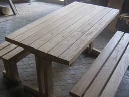 Стол лавки (сосна, дуб)