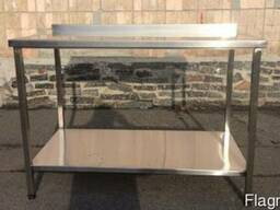 Стол нержавеющий для кухни, стол производственный 1, 1м 6 шт.